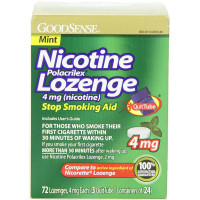 Good Sense Stop Smoking Aid Nicotine Lozenge, Mint 4 mg 72 ea [301130873053]