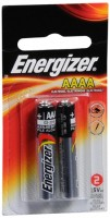 Energizer Alkaline Batteries AAAA 2 Each [039800030771]