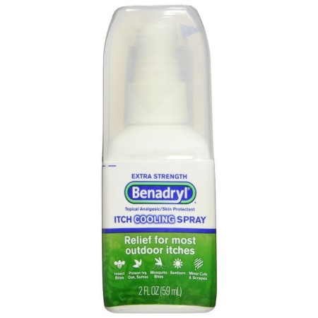 Benadryl Itch Relief Spray Extra Strength 2 oz [312547170048]