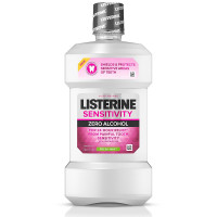Listerine 24-HR Tooth Sensitivity Relief & Protection Alcohol-Free Formula Sensitivity Mouthwash, Fresh Mint Flavor 8.5 oz [312547235969]