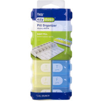 Ezy-Dose 7 Day AM/PM Easy Fill Pill Organizer  1 ea [025715677057]