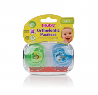 Nuby Prism Orthodontic Pacifiers, 0-6 Months 2 ea [048526985647]