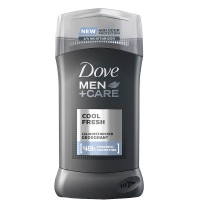 Dove Men + Care Invisible Solid Deodorant, Cool Fresh 3 oz [079400536242]