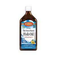 Carlson The Very Finest Fish Oil, 1,600 mg Omega-3s, 16.9 oz [088395015458]
