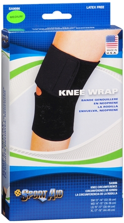 Sport Aid Knee Wrap Medium 1 Each [763189215510]