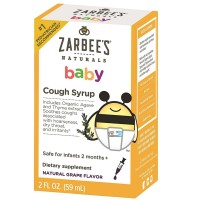 ZarBee's Naturals Baby Cough Syrup, Natural Grape Flavor 2 oz [898115002398]