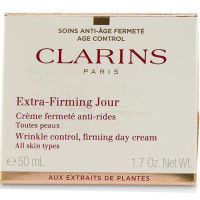 Clarins Extra Firming Wrinkle Control Day Cream for All Skin Types 1.7 oz [3380810032789]