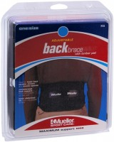 Mueller Sport Care Adjustable Back Brace With Lumbar Pad One Size 255 1 Each [074676255019]