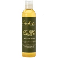 Shea Moisture Olive & Green Tea Bath, Body & Massage Oil 8 oz [764302211068]