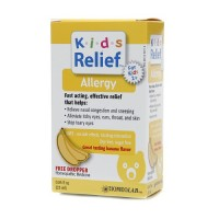 Homeolab USA Kids Relief Allergy Drops, Ages 2+, Banana Flavor 0.85 oz [778159676390]