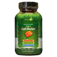 Irwin Naturals Max Strength Phase II Carb Blocker Softgels 75 ea [710363263560]