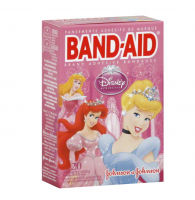 BAND-AID Children's Adhesive Bandages, Disney Princess, Assorted Sizes 20 ea [381371046539]