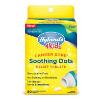 Hyland's Canker Sore Soothing Dots Relief Tablets, 50 ea  [354973334212]
