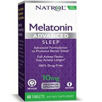 Natrol Advanced Sleep Melatonin Tablets, Maximum Strength 10 mg 60 ea [047469059644]