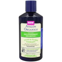 Avalon Organics Anti-Dandruff Itch & Flake Shampoo 14 oz [654749361061]