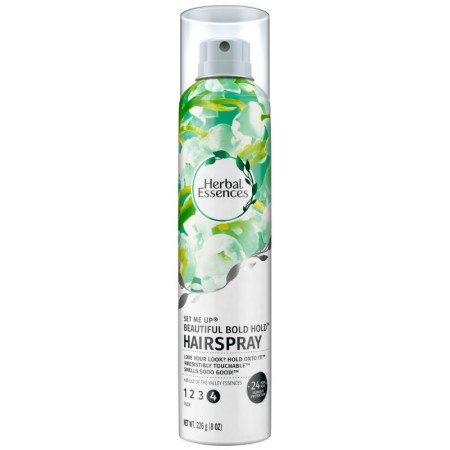 Herbal Essences Set Me Up Beautiful Bold Hold Hairspray 8 oz [381519019739]