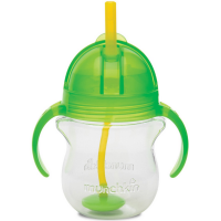 Munchkin Click Lock 7 oz Weighted Flexi-Straw Cup, Colors May Vary 1 ea [735282241888]