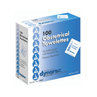 Obstetrical Wipe Dynarex Individual Packet Alcohol Scented 1 Count [616784130231]