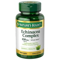 Nature's Bounty Echinacea Complex 450 mg Capsules 100 ea [074312741692]
