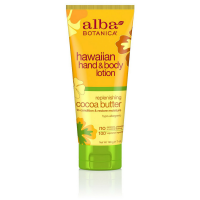 Alba Botanica Hawaiian Hand & Body Lotion, Replenishing Cocoa Butter 7 oz [724742008284]