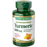 Nature's Bounty Standardized Extract Turmeric 500 mg Capsules 45 ea [074312552731]