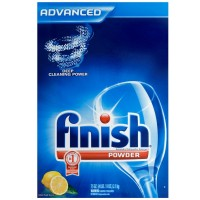Finish Powder Dishwasher Detergent, Lemon Fresh Scent, 75 oz [051700782345]
