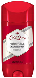 Old Spice High Endurance Deodorant Solid, Original 3 oz [012044038888]