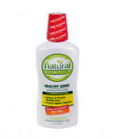The Natural Dentist Moisturizing Healthy Gums Antigingivitis Rinse, Peppermint Twist 16.90 oz [714132000752]
