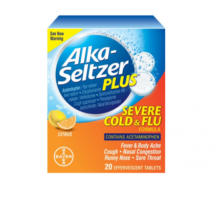 Alka seltzer plus cold and flu review