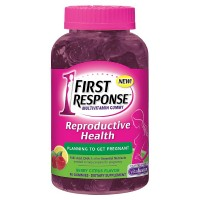 FIRST RESPONSE Reproductive Health Pre-Pregnancy Support Multivitamin Gummy, Berry Citrus 90 ea [022600998976]