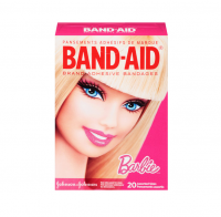 BAND-AID Adhesive Bandages, Barbie, 20 ea [381371157297]