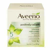 AVEENO Active Naturals Positively Radiant Intensive Night Cream 1.70 oz [381371018772]