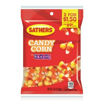 Sathers Candy Corn 12 pack (3.25oz per pack)  [075602101554]