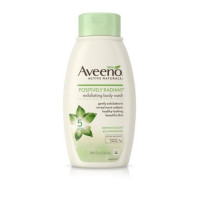 AVEENO Posittively Radiant Exfoliating Body Wash 18 oz [381371170241]