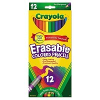 Crayola Erasable Colored Pencils 1 ea [071662244125]