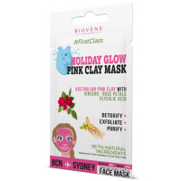 Biovène Holiday Glow, Pink Clay Mask 0.42 oz [8436575090818]