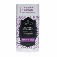 Svasthya Body & Mind Natural Deodorant with Essential Oils - Womens 2.45 oz [612524954433]