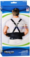 Sport Aid Back Support Black XL 1 Each [763189110457]