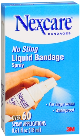 Nexcare Liquid Bandage Spray 0.61 oz [051131862937]