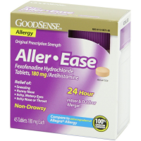 Good Sense Aller-Ease Fexofenadine Hydrochloride Tablets, 180 mg 45 ea [370030129072]