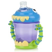 Nuby iMonster 7-oz Grip N' Sip Toddler Cup 1 ea [048526220403]