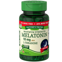 Nature's Truth Maximum Strength Melatonin 10 mg Tablets 72 ea [840093100825]