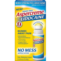 ASPERCREME Max Strength With 4% Lidocaine No Mess Applicator 2.5 oz [041167058107]