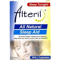 Alteril All Natural Sleep Aid 30 Tablets [897343001364]