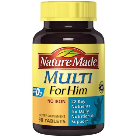 Nature Made Multi For Him 90 Tablets [031604017897]