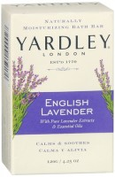 Yardley London Moisturizing Bar English Lavender with Essential Oils 4.25 oz [041840000027]