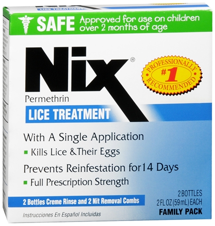 Nix Lice Treatment Family Pack 4 oz [363736120030]
