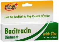 First Aid Research Bacitracin Ointment With Zinc 1 oz [814428009442]