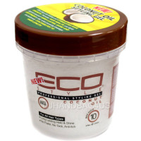ECO Styler Professional Styling Gel, Coconut Oil, Max Hold 8 oz [748378004175]