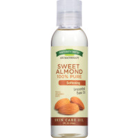 Nature's Truth 100% Pure Unscented Skin Care Base Oil, Sweet Almond 4 oz [840093100900]